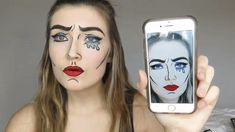 Comic Book Filter | Cutest Snapchat Filter Makeup Tutorials You Should Definitely Try