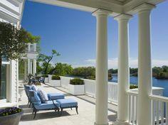Waterfront Homes: Classic Pond-Front Colonial in Rye, N.Y.   Houses   HGTV FrontDoor