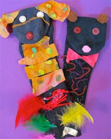 """Simple Sock Puppets ("""",)"""