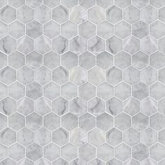 Printable PDF modern dollhouse wallpaper Hexagon marble
