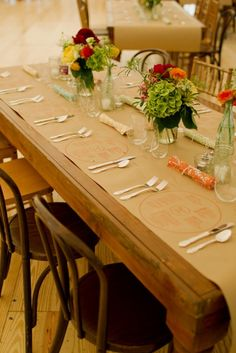 Paper Place Settings Easy Rustic Casual Setting For A Small Gathering