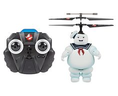 Ghostbusters Licensed Stay Puft Marshmallow Man 2CH IR RC Helicopter - $39.95