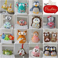 Plushka's toys from 2009 - February 2013