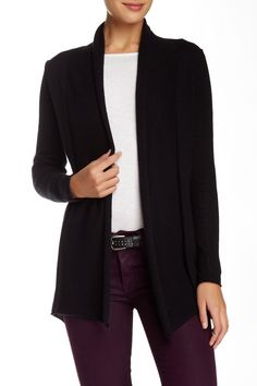 Cashmere Open Front Cardigan by SUSINA on @nordstrom_rack