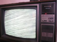 You had buttons and switches on your television set.