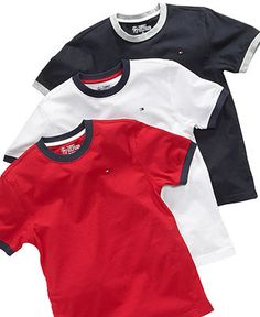 Tommy Hilfiger Kids T Shirt, Little Boys Ken Short Sleeve Tee - Kids Boys 2-7 - Macy's