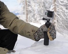 Can't go wrong with a small, lightweight action camera grip that transforms into a tripod within seconds! Do we hear holiday gifts? Technology Gadgets, Gifts For Girls, Cool Gadgets, Tripod, Holiday Gifts, Monitor, Action, The Unit, Android Phones