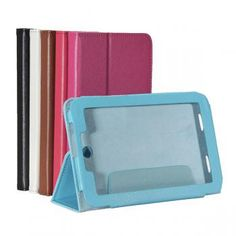 Folio PU Leather Case Stand For Lenovo Idea Tab A2107 A2207 Tablet