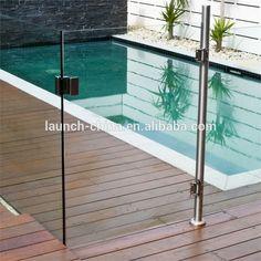 18 Glass Gate Ideas Glass Glass Door Pool Gate