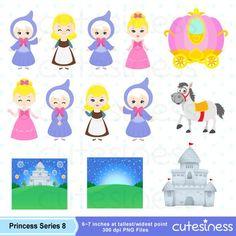 Cinderella Digital Clipart Princess Digital Clipart Princess