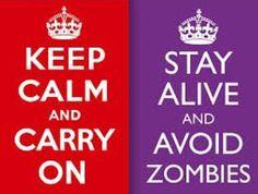 calm alive no zombie