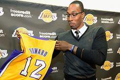 Dwight Howard ficha por los Lakers.