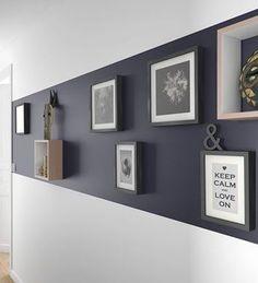 Persönliche Galerie Enthülle die die wir so mögen, persönliches Museum Decoration aménagement intérieur maison Wall Design, House Design, Interior Desing, Monochrome Interior, Wall Decor, Room Decor, Wall Art, Home Staging, Sweet Home