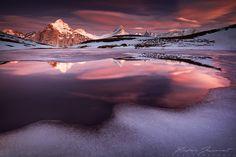Snowy Landscape Photography by Xavier Jamonet
