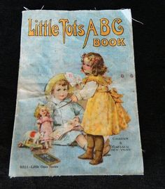 Child's ABC linen book c. 1920, Graham and Matlack