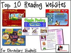 Top 10 websites for all subjects in an elementary classroom- great list!