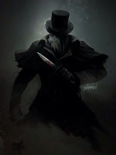 Jack The Ripper ~ Artwork by: Berunov