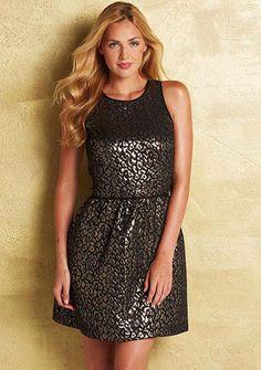 Tara Fit-and-Flare Dress - default