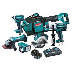 Find Makita LXT 18V 6 Piece Cordless Combo Kit at Bunnings Warehouse. Visit your local store for the widest range of tools products.