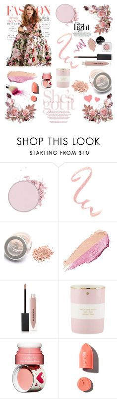 """""""Untitled #375"""" by irixiketa ❤ liked on Polyvore featuring beauty, By Terry, Burberry, Kate Spade, Clarins, PUR and Cynthia Rowley"""