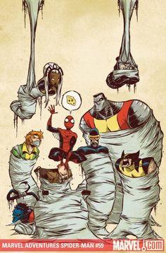 Marvel Adventures Spider-Man #59 - Skottie Young