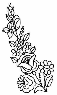 "Hungarian Embroidery Stitch Képtalálat a következőre: ""kalocsai minta"" - Hungarian Embroidery, Folk Embroidery, Learn Embroidery, Ribbon Embroidery, Hungarian Tattoo, Chain Stitch Embroidery, Embroidery Stitches, Floral Embroidery Patterns, Embroidery Designs"