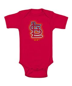 Boasting the official team colors, notorious insignia and easy-on style, this is one baseball-ready bodysuits.