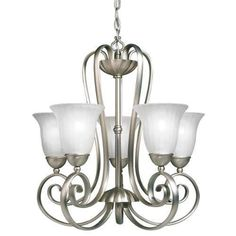 Kichler Willowmore Single-Tier  Chandelier with 5 Lights - 72  Chain I