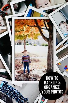 How to back up and organize your photos - http://jennycollier.com/?p=11086