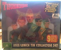 Thunderbirds usa tin #lunch box, dvd set & #collectors cards gerry #anderson 2006,  View more on the LINK: 	http://www.zeppy.io/product/gb/2/182261577874/