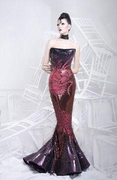 Nicolas Jebran - Haute Couture fall  2010 -2011