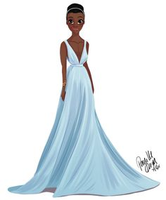 The first dress i made… Forgot to post it here… Lupita Nyong'o was my favourite