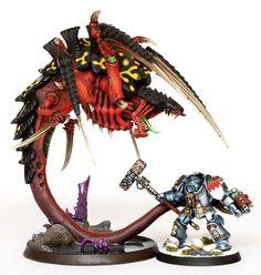 The Red Terror Conversion using Carnifex torso