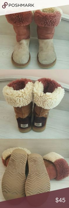Price Drop!  Ugg Boots Patchwork Tall Ugg Boots UGG Shoes Winter & Rain Boots