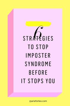 Learn strategies help you heal chronic self-doubt and low self-esteem while building genuine confidence.  #MarieForleo #MarieTV #ImposterSyndrome #FeelingLikeAFraud #CreativeWork