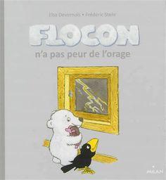 Flocon n'a pas peur de l'orage  3199700096520 CPRPS Flocon et ses amis jouent au ballon lorsqu'un orage éclate. Ils se réfugient chez l'ourson, mais Mira, la petite taupe est terrorisée. Heureusement, Flocon et Grobec sont là pour la rassurer. La Petite Taupe, Elsa, Sentiments, Frederic, Ballon, Snoopy, Children, Fictional Characters, Nursery Rhymes