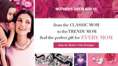 The Mother's Day Boutique is Here.  Get FREE shipping (continental U.S., direct deliveries only) from 4/10-4/12 on orders of $25.00 or more with Code: MDAY25   #avon #MothersDay #avonrep