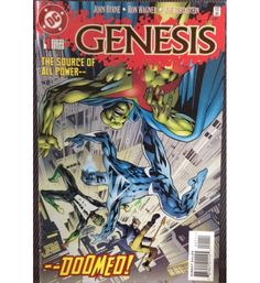 Selling - Genesis 1 (1997) I will post worldwide!   #Superman #Newgods #Darkseid #Justiceleague #DCComics #GreenLantern