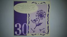Karte zum 30. Geburtstag
