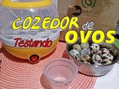 Testando o Cozedor de Ovos Fun Kitchen!!