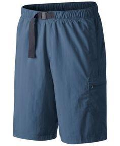 Columbia Men's Palmerston Peak Performance Sun Protection Cargo Shorts - Steel XXL