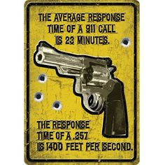 "River's Edge 16"" Average Response Time Tin Sign"