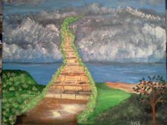 Stairway to heaven ...God's Garden theme