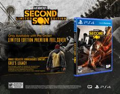 infamous Second Son PS4 GDP