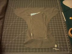 how to sew a fitted cloth diaper on the cheap