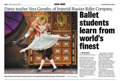 Press reviews of The Imperial Russian Ballet Company