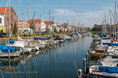Marina at Brouwershaven The Netherlands by MarkEvers #fadighanemmd