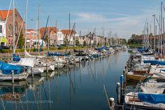 Marina at Brouwershaven Netherlands