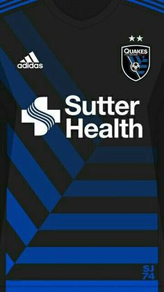 San Jose Earthquakes 16-17 kit home