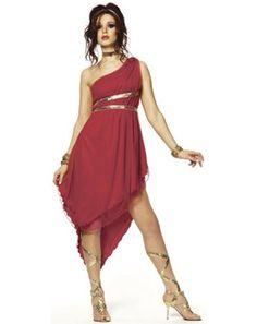 Ruby Goddess Adult Costume